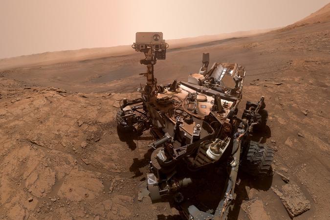 NASA Curiosity Mars rover selfie from October 11th, 2019