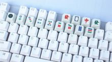 Mahjong-themed keyboards available in Singapore for fans of the game