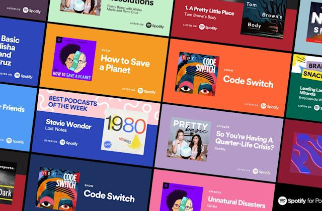 Spotify promo cards are a more visual way to share music and podcasts