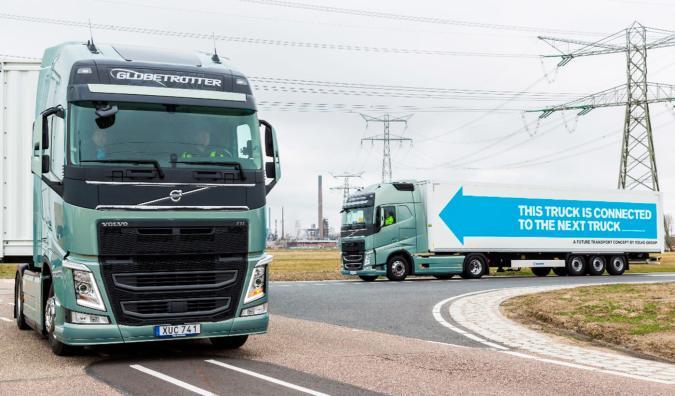 Platoons of autonomous trucks took a road trip across Europe