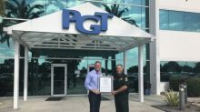 Florida Sheriffs Association Recognizes PGT Innovations' Support