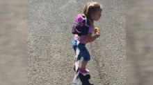 Dad's 'no shame' post on using toddler leash: 'She'd be the lost child'