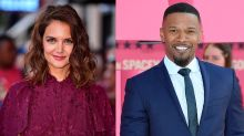 Katie Holmes loves to wear Jamie Foxx's sunglasses