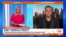 Thieves stealing baby formula to sell on black market