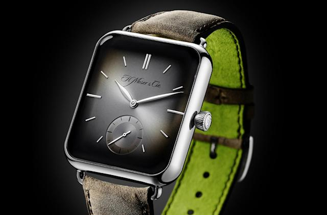 The Swiss Alp Watch is an unabashed Apple Watch rip-off