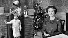 Here's what a royal Christmas at Windsor used to look like