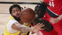 Lakers go old school in dominating Game 2 win over Trail Blazers