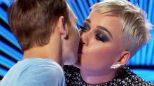 Chico da su primer beso en la boca ¡a Katy Perry!