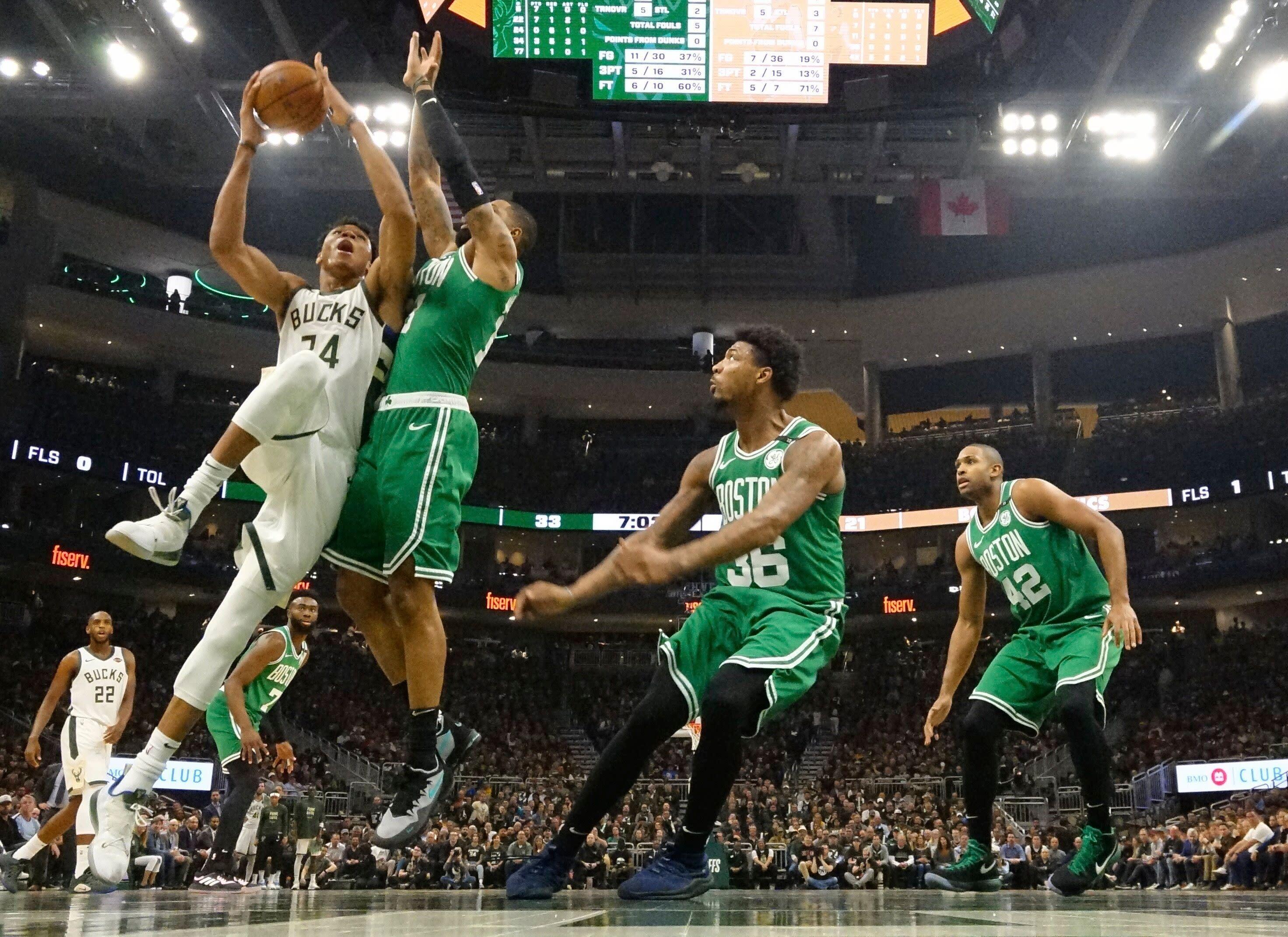 236dce19b4a Bucks mercifully end Celtics' season with Game 5 stomping. Jack Baer. Yahoo  Sports Contributor