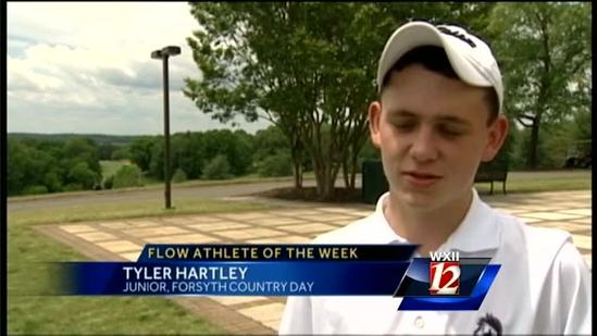 Athlete of the Week: Forsyth Country Day's Tyler Hartley