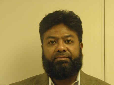 Muhammad Choudhry is pictured in this police photograph taken in Columbus, Ohio on September 23, 2010 and provided on April 28, 2015. REUTERS/Franklin County Sheriff's Office/Handout via Reuters