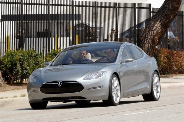 Tesla Model S now official