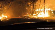 Heldenmut: Entsetzliche Waldbrände in Kalifornien