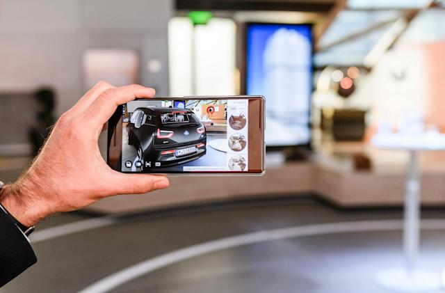 BMW uses Google's augmented-reality tech to preview your i3