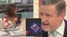 Susanna Reid embarrasses Labour MP by pointing out Remain sticker on his iPad during Brexit debate