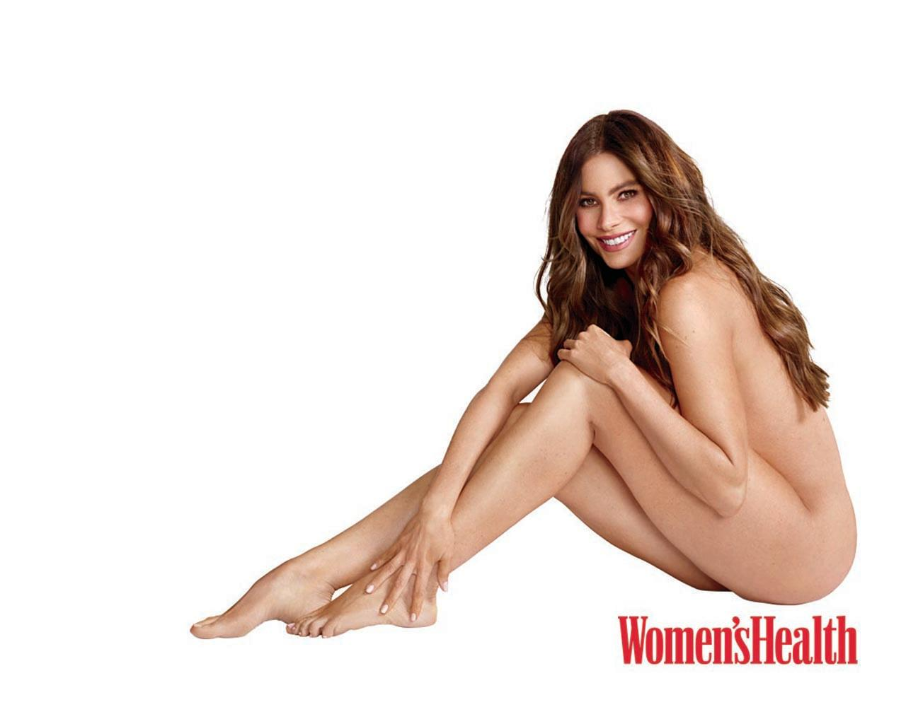 Sofia Vergara in the September issue of Women's Health.