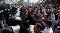 Egyptians protest president's constitutional changes