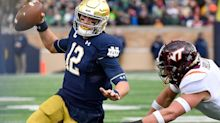 Notre Dame avoids shocking upset, beats Virginia Tech with final-minute TD