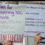 Teachers unions, progressive groups want demands met on housing, standardized testing before schools reopen