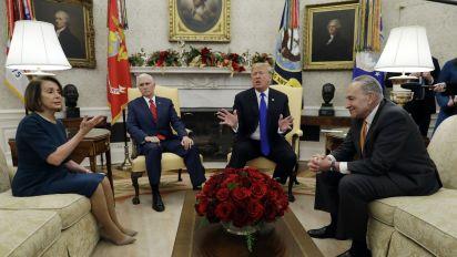 Trump escalates shutdown threat over border wall