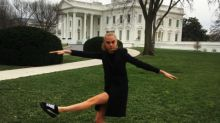 Cara Delevingne Branded'Disrespectful' For Wearing Trainers To The White House