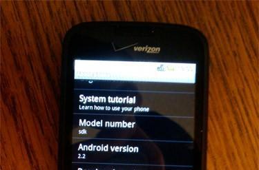 Android 2.2 ROM inevitably falls victim to device ports