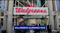 Walgreen earnings miss; Vertex shares surge; Apple's Bigger iPhones in the works