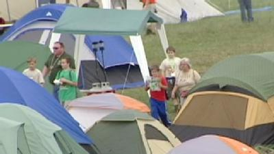 Scouts Pack Campsite For Centennial Event