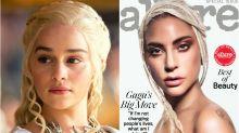 Lady Gaga se transforma en Daenerys Targaryen para la revista Allure