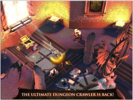 Daily iPhone App: Dungeon Hunter 4 is a hack-and-slash that asks for cash