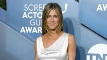 Jennifer Aniston Says Friends Reunion Delay Due to Coronavirus Pandemic Is 'Very Sad'