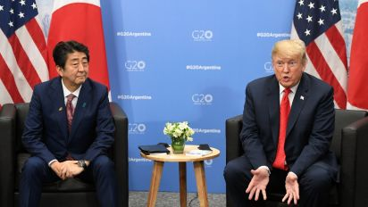 Japan PM nominated Trump for award: Report