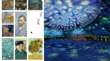 深圳最新打卡點!26000呎、11個光影空間 走入梵高藝術世界