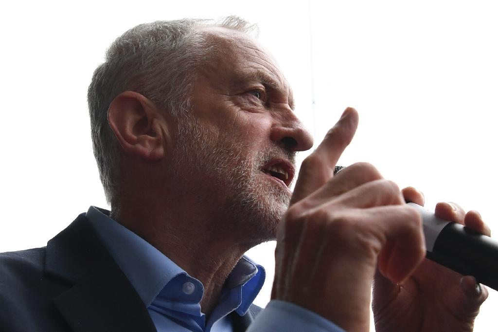 Britain's main opposition Labour Party leader Jeremy Corbyn describes his manifesto as 'radical and responsible' (AFP Photo/Paul ELLIS)
