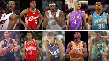 LeBron's 2003 class vs. Kobe's 1996: Who wins?