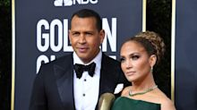 Alex Rodriguez praises Jennifer Lopez after Golden Globes disappointment: 'You are a champion'