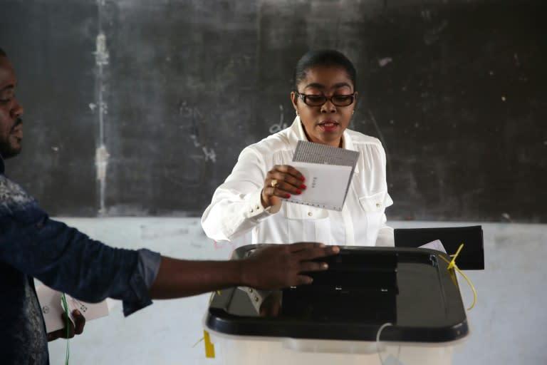 Rose Christiane Ossouka Raponda is an economist by training