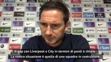 """Lampard: """"Felici per quanto fatto, ma quel gap con Liverpool e City..."""""""