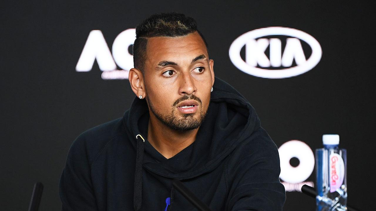Nick Krgios jabs tennis reporter with peculiar barb