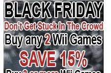Capcom store holds Black Friday promotion