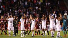 El argentino Damián Díaz marca un golazo en el triunfo del Barcelona en Ecuador