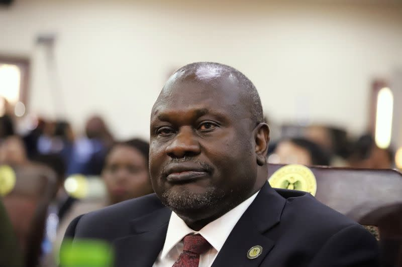 South Sudan vice president, wife test positive for coronavirus