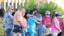 'We need to come together.' Throngs at SC park mourn the 6 mass shooting victims