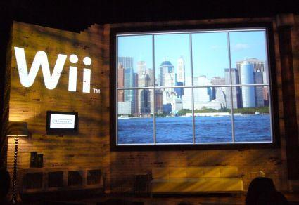 Live at Nintendo's NYC Wii press conference