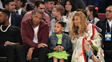 Beyoncé and Blue Ivy Were Literal Queens With Their Matching Gold Hairstyles