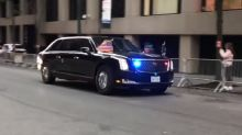 Donald Trump's New U.S. Presidential Limousine is Worth Rs 12 Crore, Spotted for the 1st Time – Video