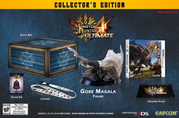 Spend $60, get a Monster Hunter 4 Ultimate supply box of treats