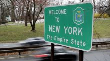Rising infections complicate rules for New York-area travel