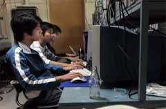 China opens first Internet gaming halfway house