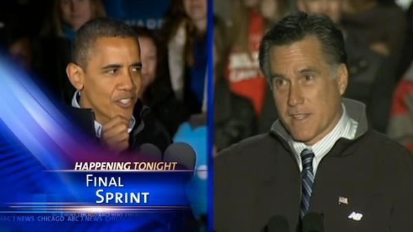 Vote 2012: Obama focuses on turnout, Romney on Pennsylvania